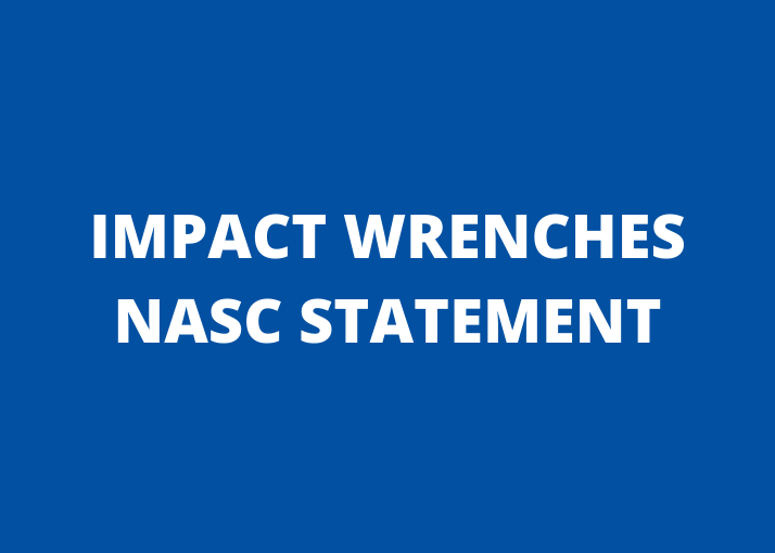 NASC Position on the use of Impact Wrenches