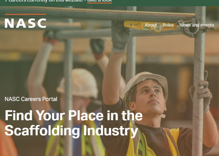 NASC Launches Careers Website